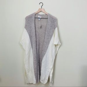 Universal Thread Colorblock Open Front Cardigan